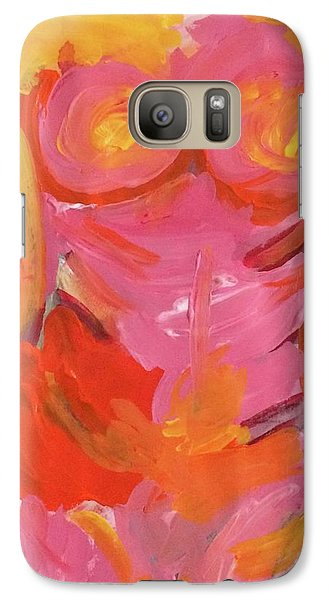 Galaxy Case featuring the painting Body Image by Kim Nelson