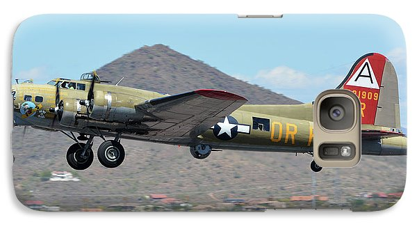 Galaxy Case featuring the photograph Boeing B-17g Flying Fortress N93012 Nine-o-nine Deer Valley Arizona April 13 2016 by Brian Lockett