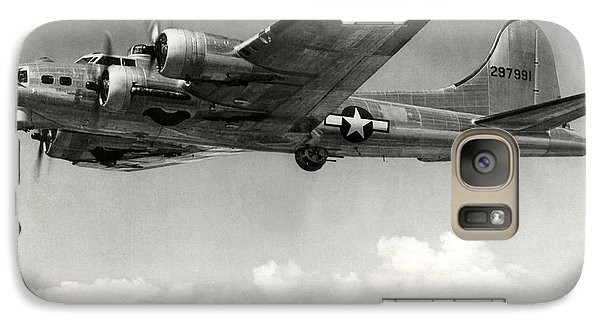 Galaxy Case featuring the photograph Boeing B17 1944 by USAAC Foto
