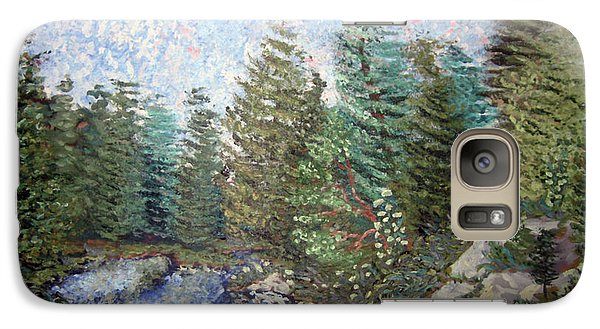 Galaxy Case featuring the painting Bog River Morning by Denny Morreale
