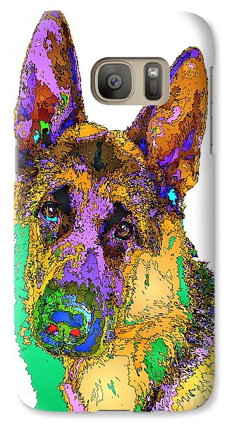 Bogart The Shepherd. Pet Series Galaxy S7 Case