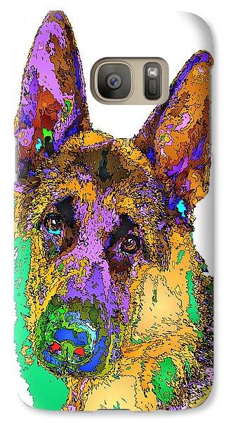 Bogart The Shepherd. Pet Series Galaxy S7 Case