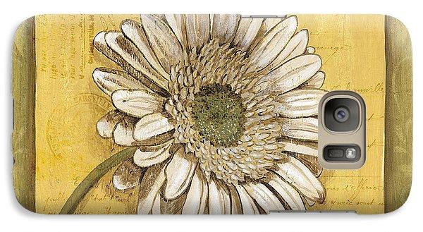 Daisy Galaxy S7 Case - Bohemian Daisy 1 by Debbie DeWitt