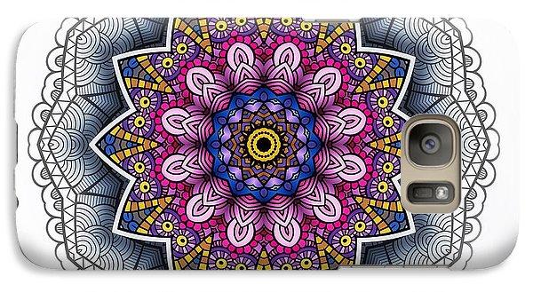 Galaxy Case featuring the digital art Boho Star by Mo T