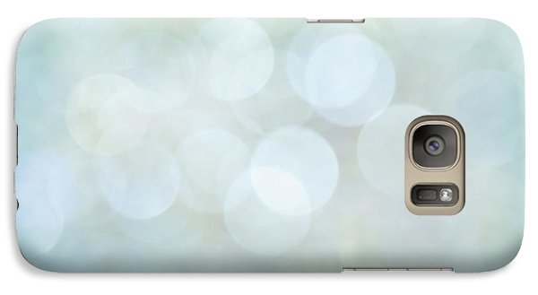 Galaxy Case featuring the photograph Bokeh Clouds by Jan Bickerton