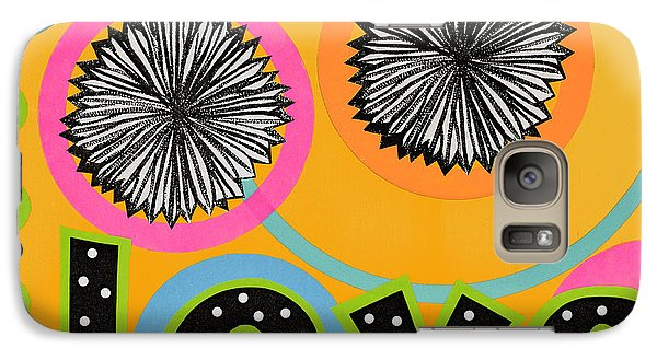 Galaxy Case featuring the mixed media Bold Love by Gloria Rothrock