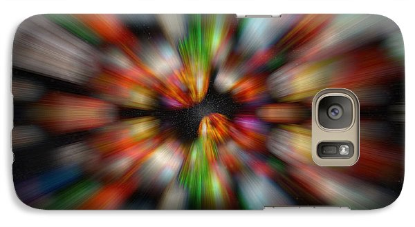 Galaxy Case featuring the photograph Bolders In Space by Cherie Duran