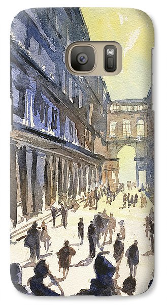Galaxy Case featuring the painting Bologna Sunset- Italy by Ryan Fox