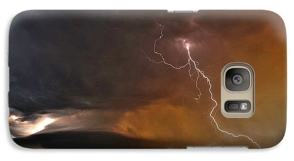 Galaxy Case featuring the photograph Bolt From The Heavens. by James Menzies