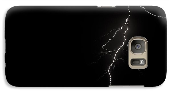 Galaxy Case featuring the photograph Bolts On Lake Houston by Allen Biedrzycki