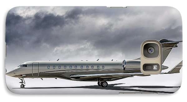Jet Galaxy S7 Case - Bombardier Global 5000 by Douglas Pittman