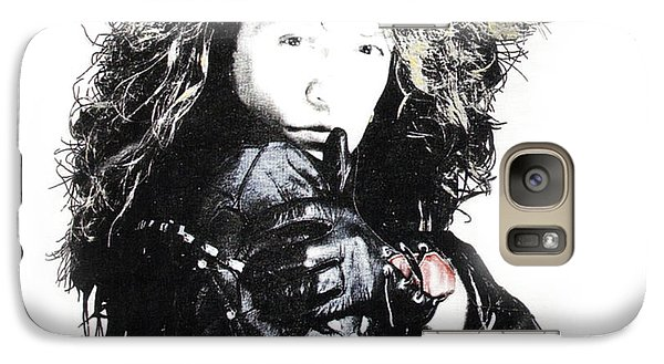 Galaxy Case featuring the digital art Bon Jovi by Gina Dsgn