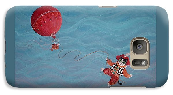 Galaxy Case featuring the painting Bon Voyage by Dee Davis