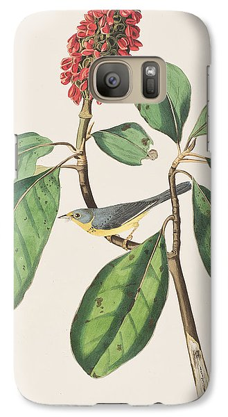 Flycatcher Galaxy S7 Case - Bonaparte's Flycatcher by John James Audubon