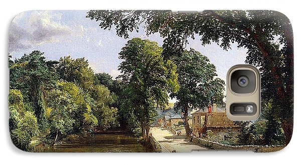 Geese Galaxy S7 Case - Bonchurch Isle Of Wight by Jasper Francis Cropsey