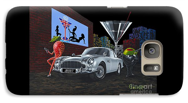 Martini Galaxy S7 Case - Bond by Michael Godard