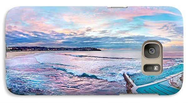 Bondi Beach Icebergs Galaxy Case by Az Jackson