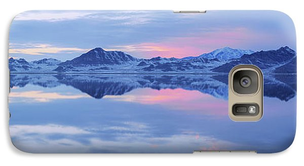 Galaxy Case featuring the photograph Bonneville Lake by Chad Dutson
