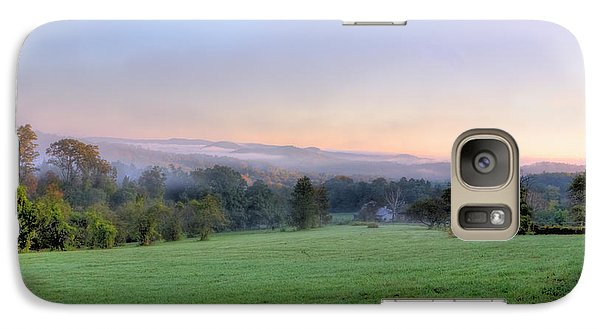 Galaxy Case featuring the photograph Bonnyvale Field by Tom Singleton