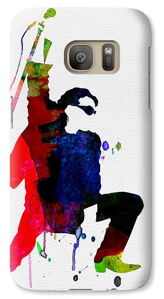 Jazz Galaxy S7 Case - Bono Watercolor by Naxart Studio