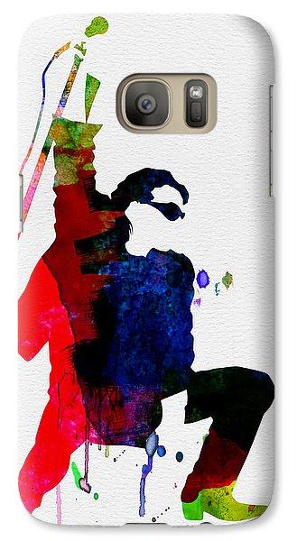 Jazz Galaxy S7 Case - Bono Watercolor by Naxart Studio