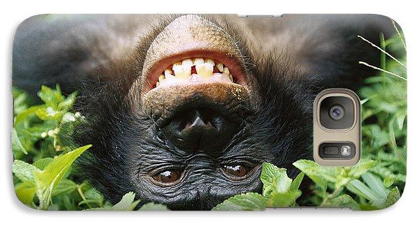 Bonobo Pan Paniscus Smiling Galaxy S7 Case