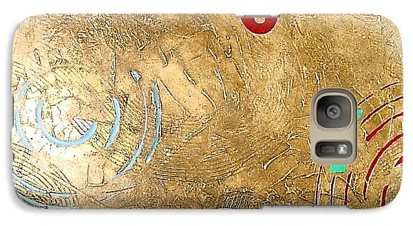 Galaxy Case featuring the painting Boogie 7 by Bernard Goodman