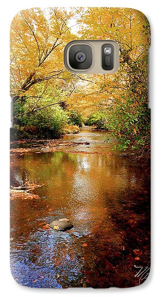 Galaxy Case featuring the photograph Boone Fork Stream by Meta Gatschenberger