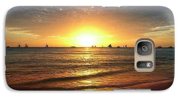 Venice Beach Galaxy S7 Case - boracay,Philippians 4 by Mark Ashkenazi