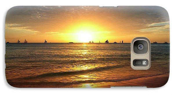 boracay,Philippians 4 Galaxy S7 Case by Mark Ashkenazi