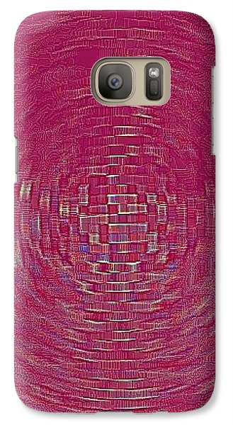 Galaxy S7 Case - Bordeaux by Orphelia Aristal