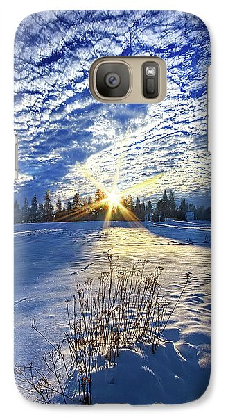 Galaxy Case featuring the photograph Born As We Are by Phil Koch
