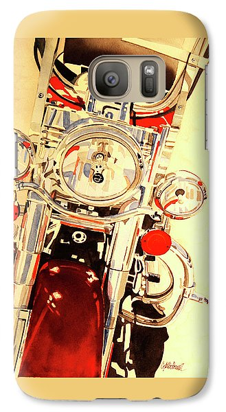 Galaxy Case featuring the painting Born To Be Wild by Cynthia Powell