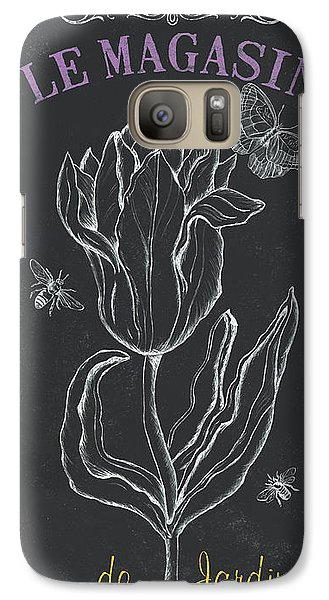 Tulip Galaxy S7 Case - Bortanique 4 by Debbie DeWitt