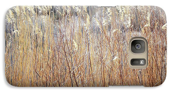 Galaxy Case featuring the photograph Bosque Desert Willows by Andrea Hazel Ihlefeld