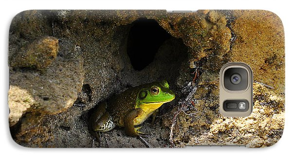 Galaxy Case featuring the photograph Boss Frog by Al Powell Photography USA