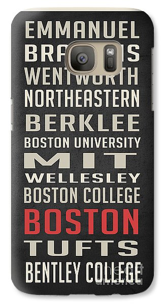 Boston Collegetown Galaxy S7 Case