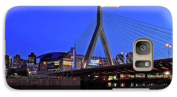Boston Garden And Zakim Bridge Galaxy S7 Case