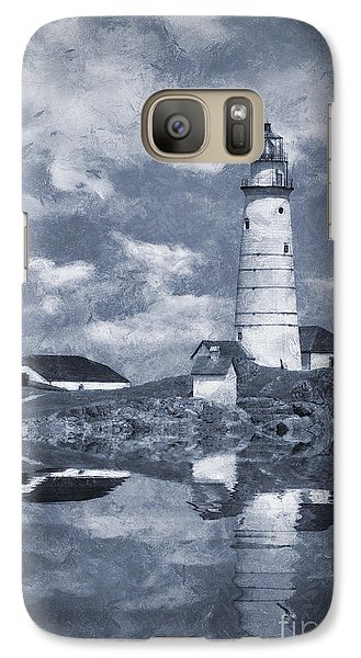 Galaxy Case featuring the photograph Boston Light  by Ian Mitchell