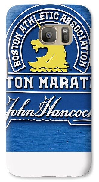 Galaxy Case featuring the photograph Boston Marathon - Boston Athletic Association by Joann Vitali