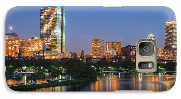 Boston Night Skyline II Galaxy S7 Case