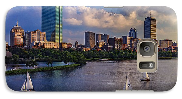Boston Skyline Galaxy S7 Case