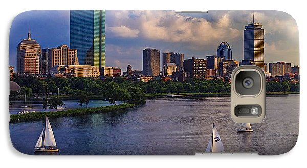 Boston Skyline Galaxy Case by Rick Berk