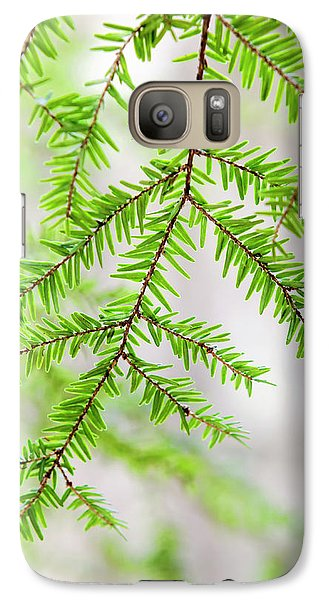Galaxy S7 Case featuring the photograph Botanical Abstract by Christina Rollo