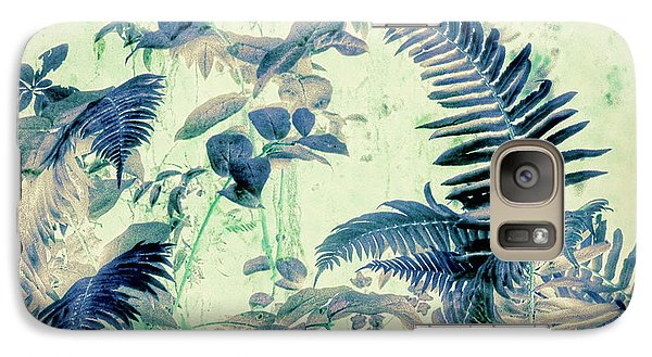 Galaxy Case featuring the mixed media Botanical Art - Fern by Bonnie Bruno