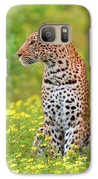 Botswana Leopard  Galaxy S7 Case by Happy Home Artistry