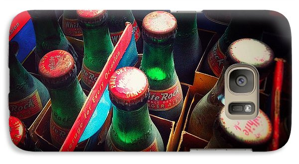 Galaxy Case featuring the photograph Bottle Necks by Olivier Calas