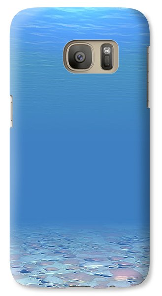 Galaxy Case featuring the digital art Bottom Of The Sea by Phil Perkins