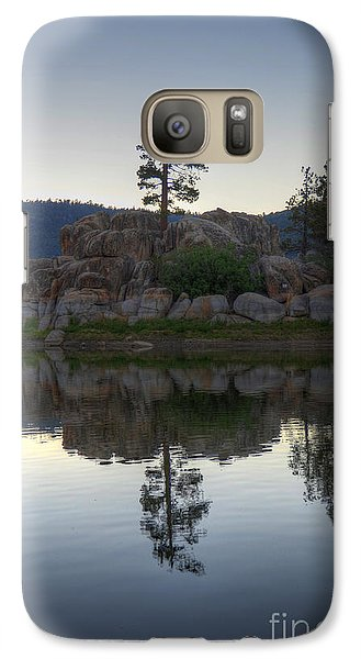 Galaxy Case featuring the photograph Boulder Bay Reflections  by Kelly Wade