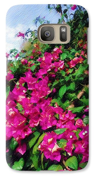 Galaxy Case featuring the photograph Bougainvillea by Sandy MacGowan